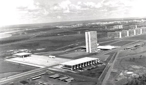 Brasilia em obra